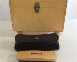 Shoe Shine Wood Kit