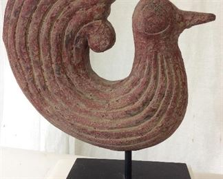 Arts & Crafts Bird Figural Sculpture, Thailand