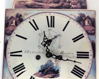 J. Richardson Howden Fox Hunt Metal Wall Clock