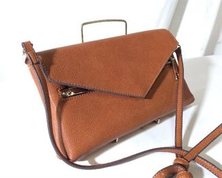 Street Level Ladies Leather Shoulder Bag/Clutch