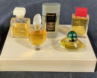 Assortment of Luxe Perfumes