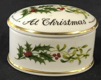 COALPORT BONE CHINA Porcelain Trinket Box