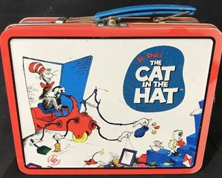 Vintage Cat In The Hat Lunch Box