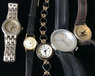 Vintage Lot 5 Designer Mid Century Watch Bands