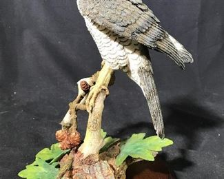 Handcrafted GOSHAWK BY DAVID IVEY Figural