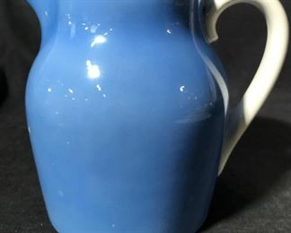 Blue Toned Porcelain Pitcher, Germany