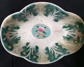 Decorative Asian Porcelain Bowl