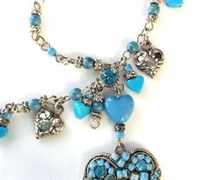 Carol DAUPLAISE Turquoise Style Necklace
