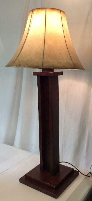 Mission Craftsman Style Oversize Floor Lamp