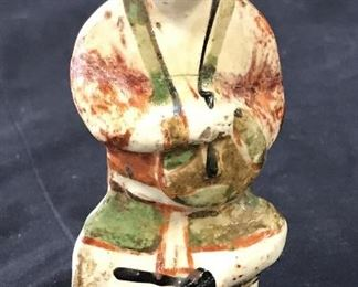 Vintage East Asian Style Ceramic Figure