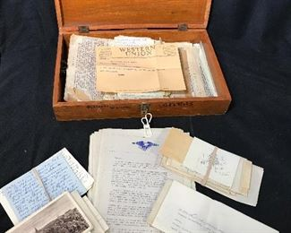 Lot Vintage World War 2 Era Correspondence