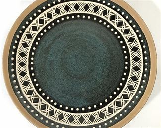 CERTIFIED INTERNATIONAL Painted Ceramic Plate