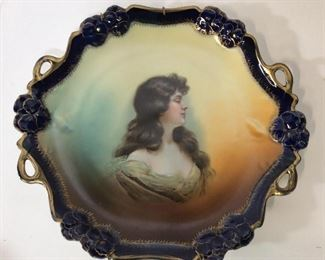 Lot4 Austrian Hand Painted Royal Vienna Porcelain
