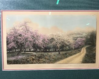 Signed & Titled Print Wallace Nutting
