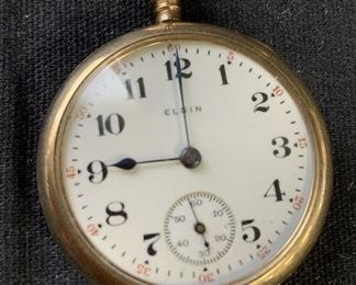 ELGIN Trademarked Numbered Pocket watch