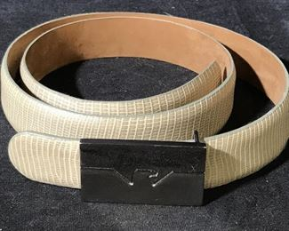 Emporio Armani Genuine Italian Leather Belt