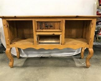 Vintage Carved Wooden Buffet