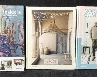 Set 3 New Interior Design Books Coffee Table Books