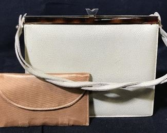 Dario Leather Purse & Business Card Holder
