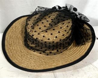 Lot 3 vintage fashion hats