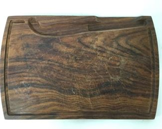 Vintage Carved Wooden Cheeseboard
