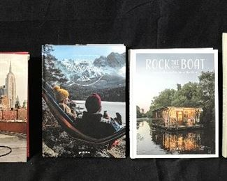 Set of 4 New Coffee Table Books