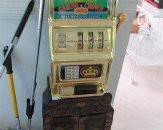 Slot Machine & Asian Antique Separates