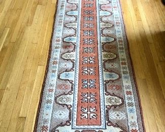 """$195 Runner - Made in Turkey 113"""" Long by 31"""" Wide"""