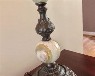 Detail - Ethan Allen lamp