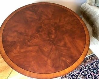 Top Ethan Allen round table