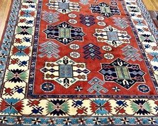 """$425 Rug - Darbaz collection Made in Turkey 99"""" long no fringe by 84"""" wide.  With fringe 105"""" long"""