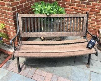 $120 Wooden  bench