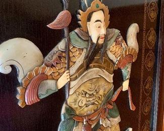 Detail warrior picture