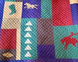 Detail quilt