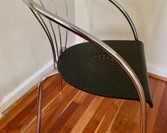 Detail black chair