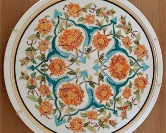 $15 Ceramic plate 9 3/4 inches diameter