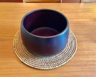 $20 Wooden bowl 8.5 inches approx diameter