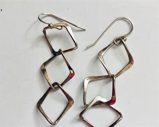 $22 Geometric sterling silver earrings