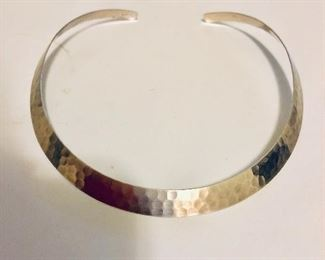 $50 Sterling silver collar bar necklace