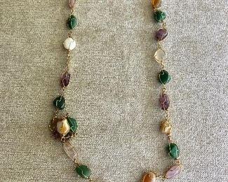 $35 Multi stone necklace