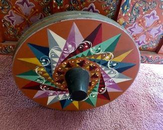 Detail of wheel Costa Rica ox cart