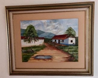"""$100 Painting 15""""L by 12"""" H signed"""