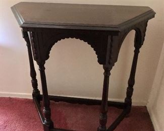 $120 Mahogany side table
