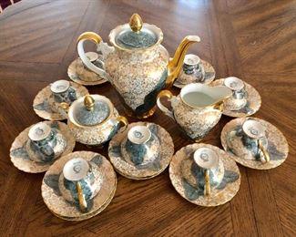 "$160 Tea and coffee set Bavaria Coffee pot 8.5"" high"