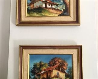 $120 2 scenic house paintings s