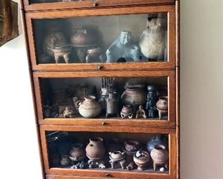 Barrister bookcase - contents not for sale