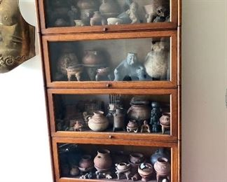 Barrister Bookcase not signed Contents not for sale