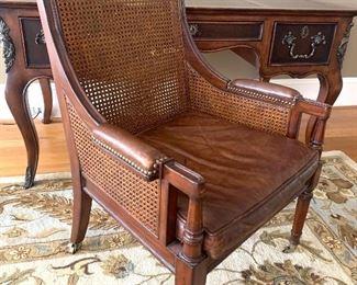 Maitland Smith cane chair