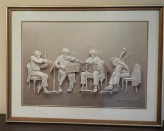 REHEARSAL by Reinhard, 1976, signed   $40