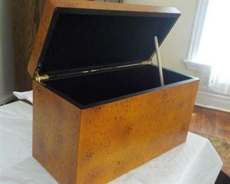"Never used heavy decorative box.  $20, 18"" wide"
